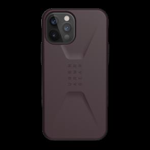 Urban Armor Gear Civilian Case For iPhone 12 Pro Max - Eggplant