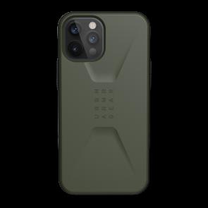 Urban Armor Gear Civilian Case For iPhone 12 Pro Max - Olive