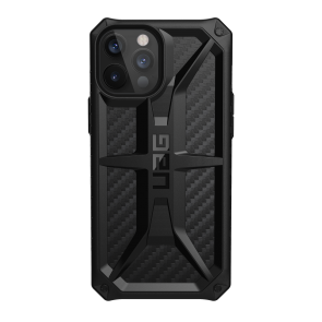 Urban Armor Gear Monarch Case For iPhone 12/iPhone 12 Pro - Carbon Fiber