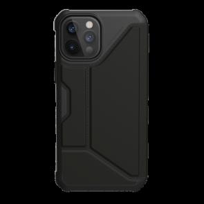 Urban Armor Gear Metropolis Folio Wallet Case For iPhone 12 Pro Max - Black