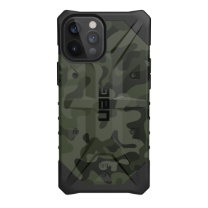 Urban Armor Gear Pathfinder Case For iPhone 12 Pro Max - Forest Camo