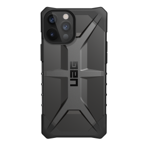 Urban Armor Gear Plasma Case For iPhone 12 Pro Max - Ash And Black