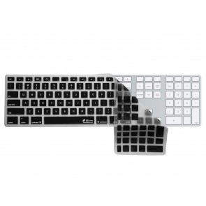 KB Covers Black Keyboard Cover for Apple Magic Keyboard with Numpad