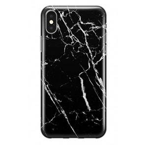 Recover Black Marble iPhone XS Max case