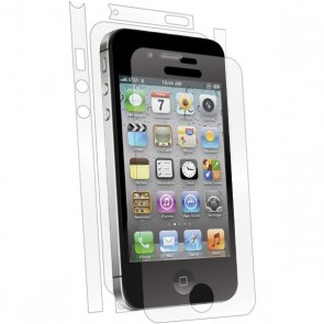 Bodyguardz UltraTough Clear Skin Full Body Apple iPhone 4/4S