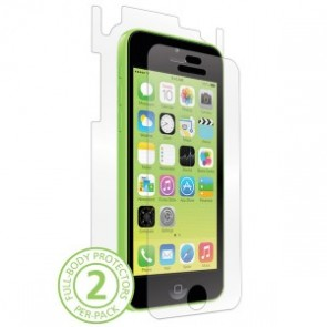 Bodyguardz UltraTough Clear Skin Full Body Apple iPhone 5C - Full Body
