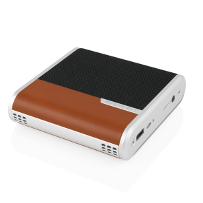 Braven Bridge Speaker and Conferencing device - Black/Light Brown/Silver