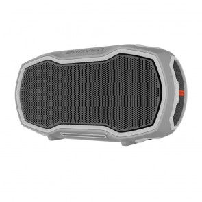 BRAVEN READY ELITE Outdoor Waterproof Speaker - Gray/Gray/Orange