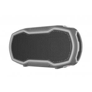 BRAVEN READY PRIME Outdoor Waterproof Speaker - Gray/Gray/Orange