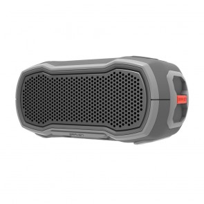 BRAVEN READY SOLO Outdoor Waterproof Speaker - Gray/Gray/Orange