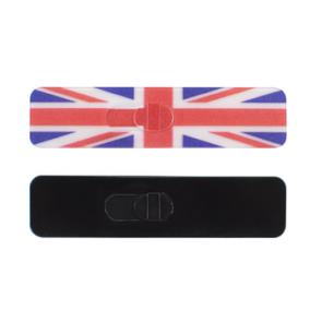 Kamshield British Flag/Black