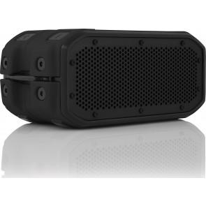 Braven BRV-1M Portable Bluetooth Speaker - Black TPE, Black Side Handles, and Black Grill