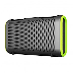 Braven Stryde XL Bluetooth Speaker - Silver/Green