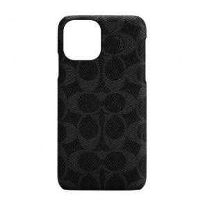 Coach Slim Wrap Case for iPhone 12 mini - Signature C Black