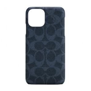 Coach Slim Wrap Case for iPhone 12 Pro Max - Signature C Denim