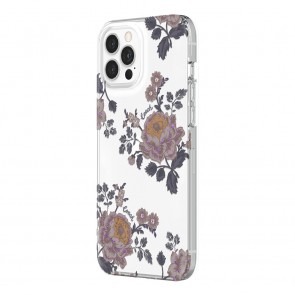 Coach Protective Case for iPhone 12 Pro Max - Moody Floral Multi/Clear/Glitter Accents