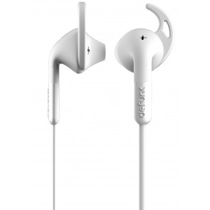 DeFunc +  SPORT Corded Earbud White