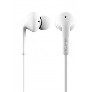 DeFunc + MUSIC Corded Earbud White