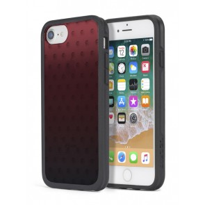 Diesel Printed Co-Mold Case for iPhone 8 Plus, iPhone 7 Plus, iPhone 6/6s Plus - Mohican Head Dot Red/Black/Clear/Ombre