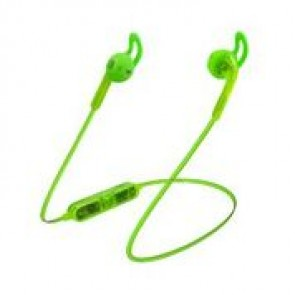 Candywirez Wireless Flat Translucent Ear Buds - Neon Green