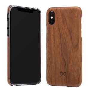 Woodcessories EcoCase- SLIM Series -  Walnut/Aramid Fibres for iPhone Xs Max