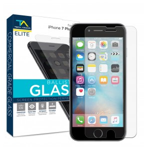 Tech Armor ELITE Ballistic Glass Screen Protector for iPhone 7 Plus/iPhone 8 Plus