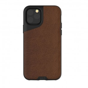 Mous iPhone 11 Pro Contour Case Brown Leather