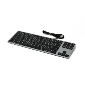 Matias Wired Aluminum Tenkeyless Keyboard for Mac - Space Gray