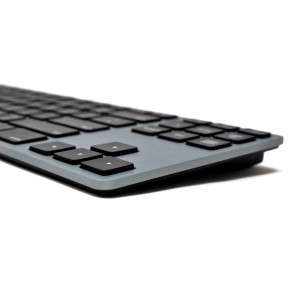 Matias RGB Backlit Wired Aluminum Tenkeyless Keyboard for Mac - Space Gray