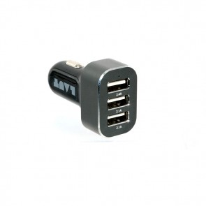 Laut POWER DASH USB Car Charger Black
