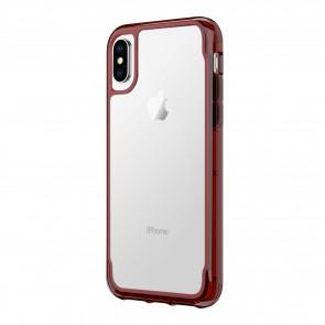 Griffin Survivor Clear - Dark Red - iPhone X