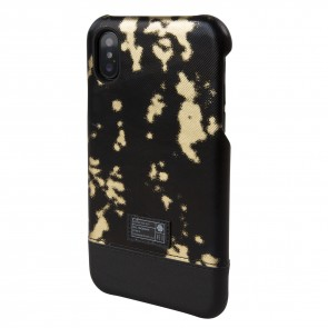 HEX FOCUS CASE FOR iPhone X BLACK GOLD LEATHER