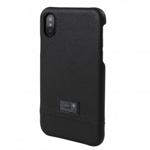 HEX FOCUS CASE FOR iPhone X BLACK LEATHER