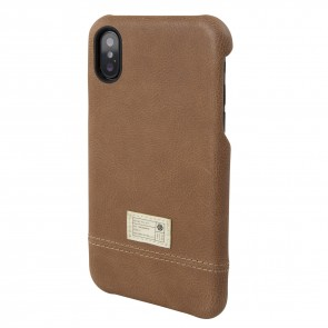 HEX FOCUS CASE FOR iPhone X BROWN LEATHER