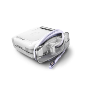 Juiceboxx Macbook Charger Case - Clear 45w