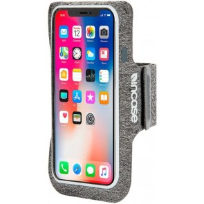 Incase Armband for iPhone X HEATHER GRAY