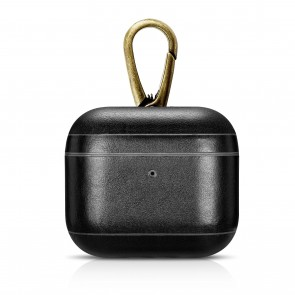 intelliARMOR AirPods Pro CarryOn Leather Case Black