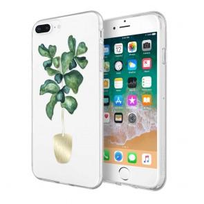 Sarah Simon x Incipio Case for iPhone 8 Plus, iPhone 7 Plus, & iPhone 6/6s Plus -Fiddle Leaf Fig