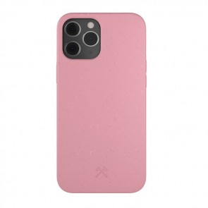 Woodcessories Bio Case Antimicrobial iPhone 12 Pro Max Coral Pink/Biomaterial