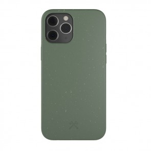 Woodcessories Bio Case Antimicrobial iPhone 12 Pro Max Midnight Green/Biomaterial