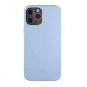 Woodcessories Bio Case Antimicrobial iPhone 12 Pro Max Purple Blue/Biomaterial