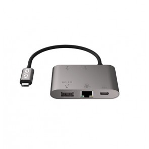 Kanex USB-C to Gigabit Ethernet & USB A Port with PD Charging