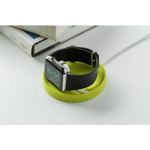 BlueLounge Kosta Soft Rubber coaster for Apple Watch - Light Grey