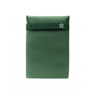 "STM knit glove sleeve (13"") - green"
