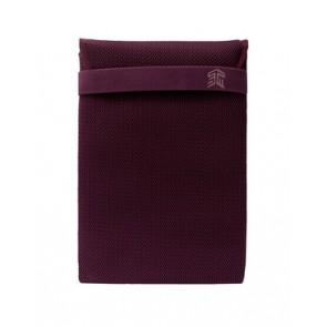 "STM knit glove sleeve (15"") - plum"