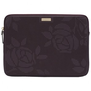 "kate spade new york Perforated Sleeve for 13"" Laptop - Perforated Rose/Mahogany"