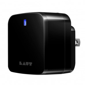 Laut Wall Charger Dual USB Black