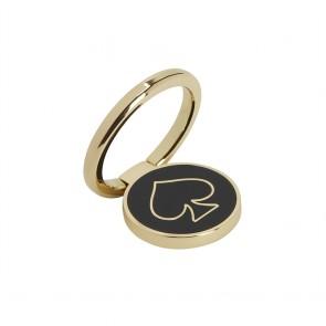 kate spade new york Universal Stability Ring - Gold/Black Enamel
