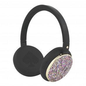 kate spade new york Wireless Headphones – Black/MultiGlitter