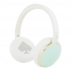 kate spade new york Wireless Headphones – Cream/Mint Gem